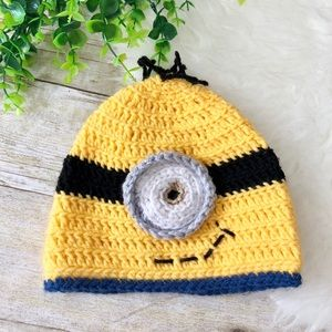 Other - Minion Crochet Hat!